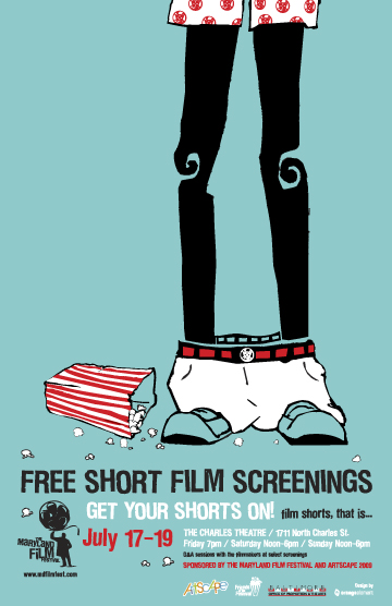 Each hour, on the hour, we will be screening five different FREE shorts ...