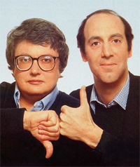Legendary film critics Siskel and Ebert