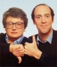 Legendary film critics Siskel and Ebert