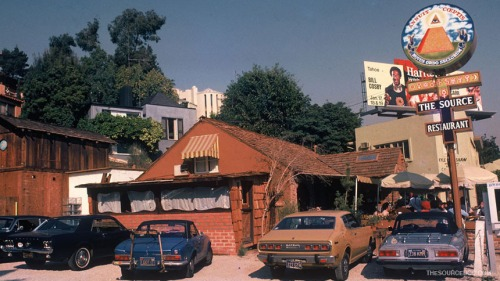 The Source restaurant on the Sunset Strip, LA.  Photo courtesy of THE SOURCE film website.