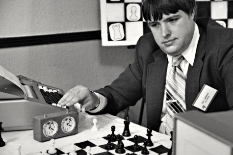 Photo still from Andrew Bujalski's Computer Chess.