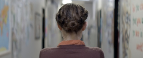 Photo still from Hannah Fiddell's A TEACHER.